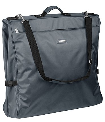 Image of Wally Bags 45-inch Framed Garment Bag with Shoulder Strap and Multiple Accessory Pockets