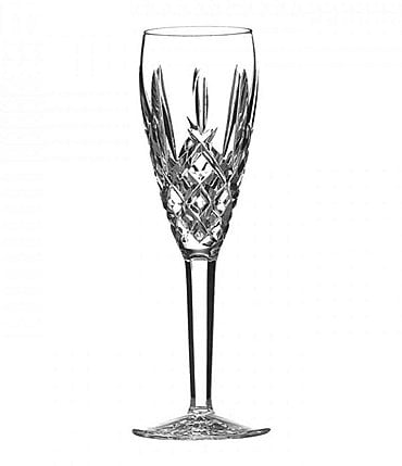 Image of Waterford Araglin Diamond-Cut Crystal Tulip Champagne Flute
