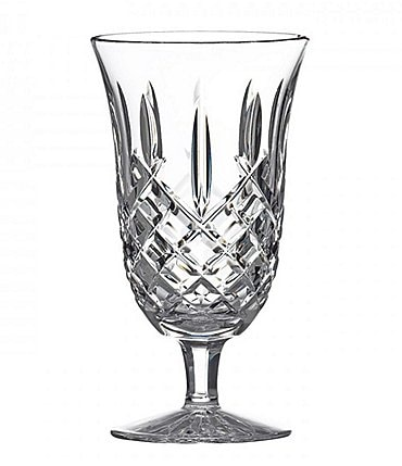 Image of Waterford Araglin Diamond-Cut Crystal Tulip Iced Beverage Glass