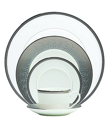 Image of Waterford Aras Grey 5-Piece Place Setting