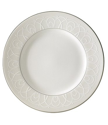 Image of Waterford Ballet Icing Pearl Platinum Bone China Bread & Butter Plate