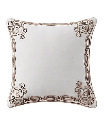 Image of Waterford Belissa Embroidered Square Pillow
