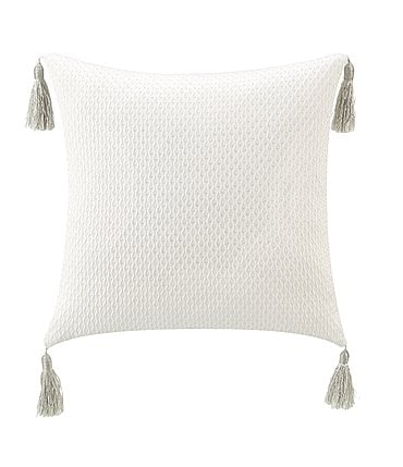 Image of Waterford Belline Reversible Tasseled Square Pillow