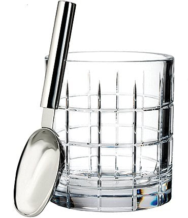 Image of Waterford Crystal Cluin Ice Bucket with Scoop