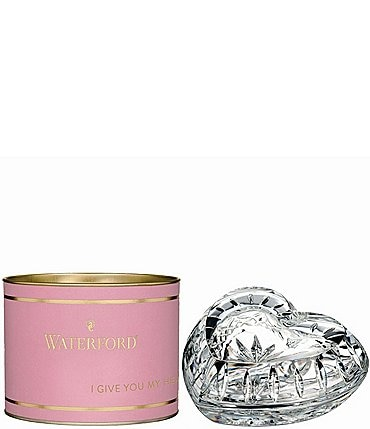Image of Waterford Crystal Giftology Heart Box