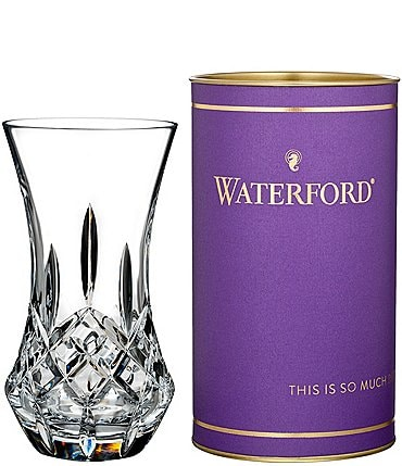 "Image of Waterford Crystal Giftology Lismore Bon Bon 6"" Vase"