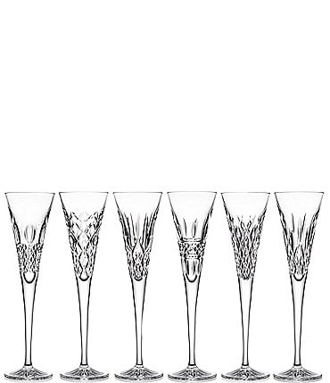 Image of Waterford Crystal Heritage Flutes Set of 6