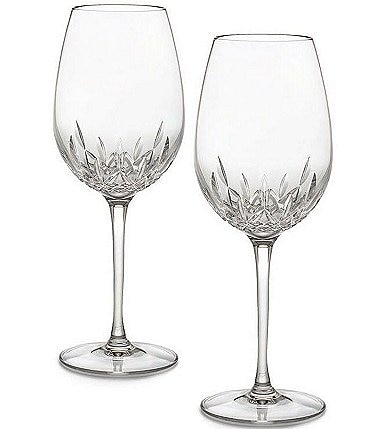 Image of Waterford Crystal Lismore Essence Goblet Pair