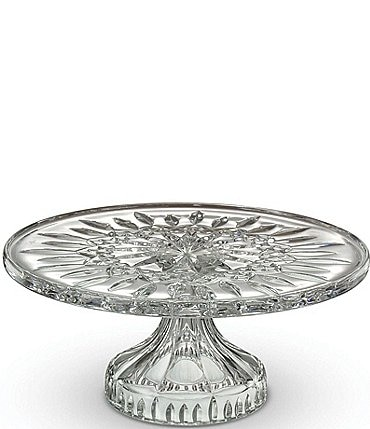 Image of Waterford Crystal Lismore Footed Cake Plate, 11""