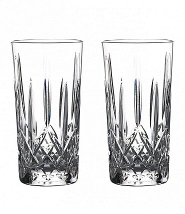 Image of Waterford Crystal Lismore Journeys Gin Highball Glasses, Set of 2