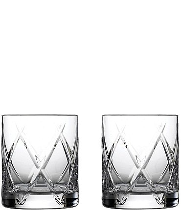Image of Waterford Crystal Olann Double Old-Fashion Glasses, Set of 2