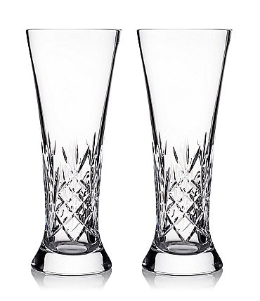 Image of Waterford Crystal Tidmore Beer Glass Pair