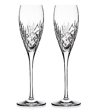 Image of Waterford Crystal Tidmore Flute Pair