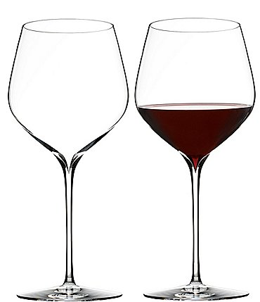 Image of Waterford Elegance Series Crystal Cabernet Sauvignon Wine Glass Pair
