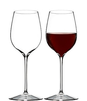 Image of Waterford Elegance Series Crystal Pinot Noir Wine Glass Pair