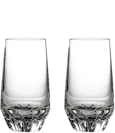 Image of Waterford Irish Dogs Madra Crystal Highball Glasses, Set of 2