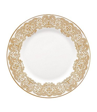 Image of Waterford Lismore Lace Gold Salad Plate