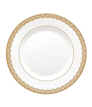 Image of Waterford Lismore Lace Gold Bread & Butter Plate
