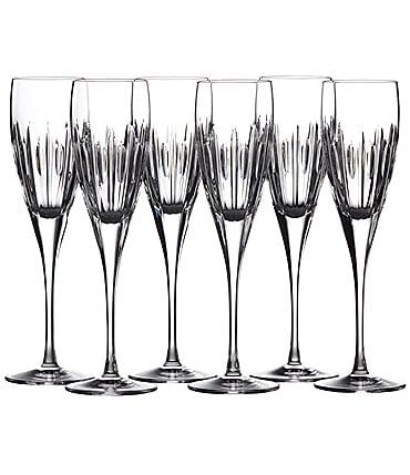 Image of Waterford Mara Crystal Flute, Set of 6