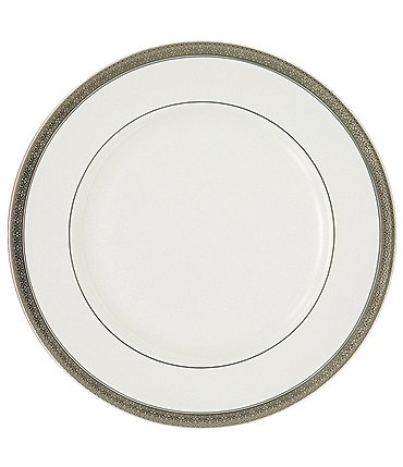 Image of Waterford Newgrange Platinum Celctic Scroll Bone China Dinner Plate