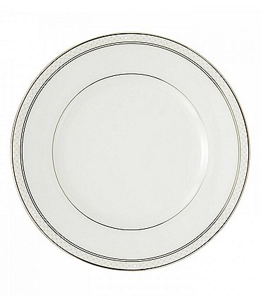 Image of Waterford Padova Platinum Bone China Salad Plate