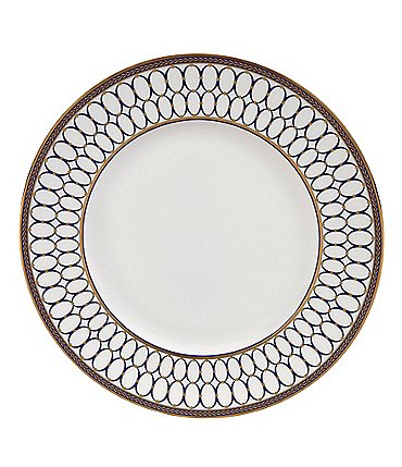 Image of Wedgwood Renaissance Gold Neoclassical Dinner Plate