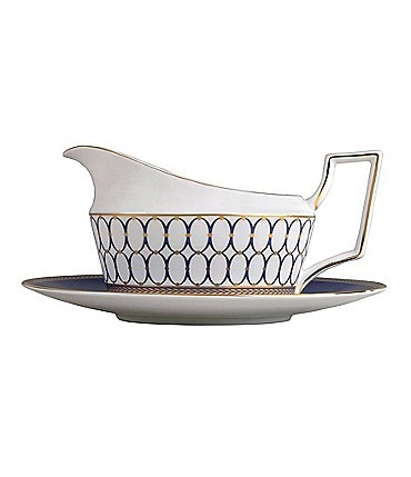 Image of Wedgwood Renaissance Neoclassical Gravy Boat
