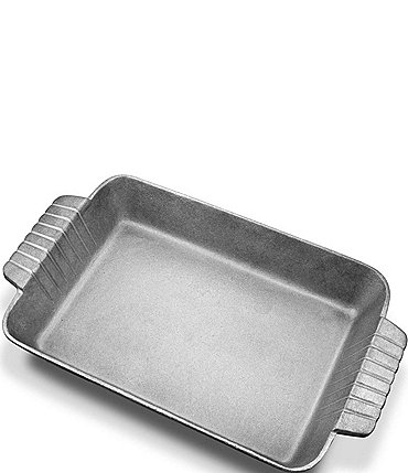 Image of Wilton Armetale Gourmet Rectangular Grillware Baker with Handles
