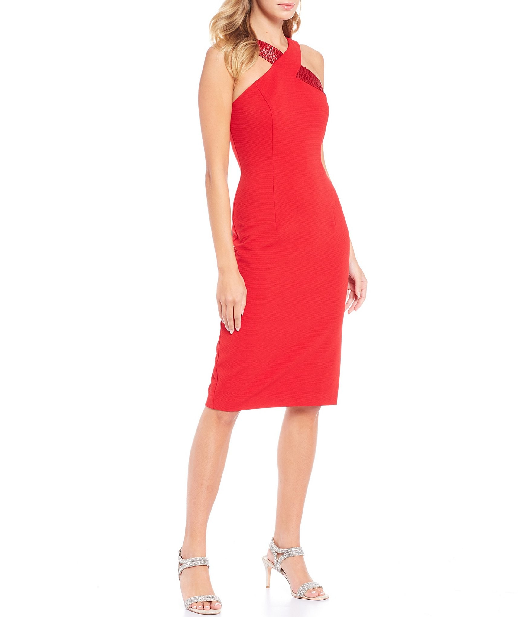 Undergarments adrianna papell sequin bodycon dress quartz knitting concealed carry