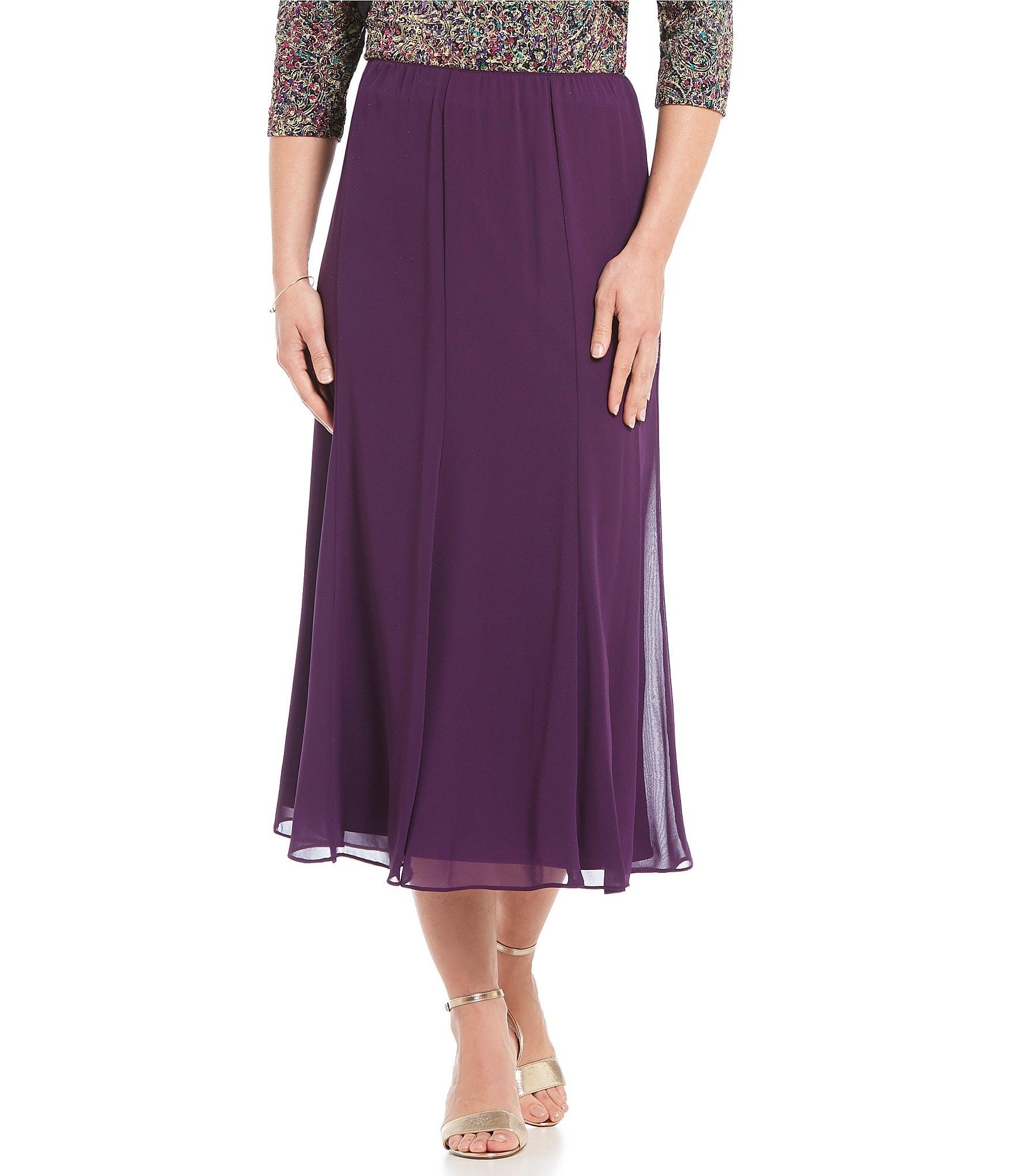 Dillard S Wedding Registry: Alex Evenings Chiffon Skirt