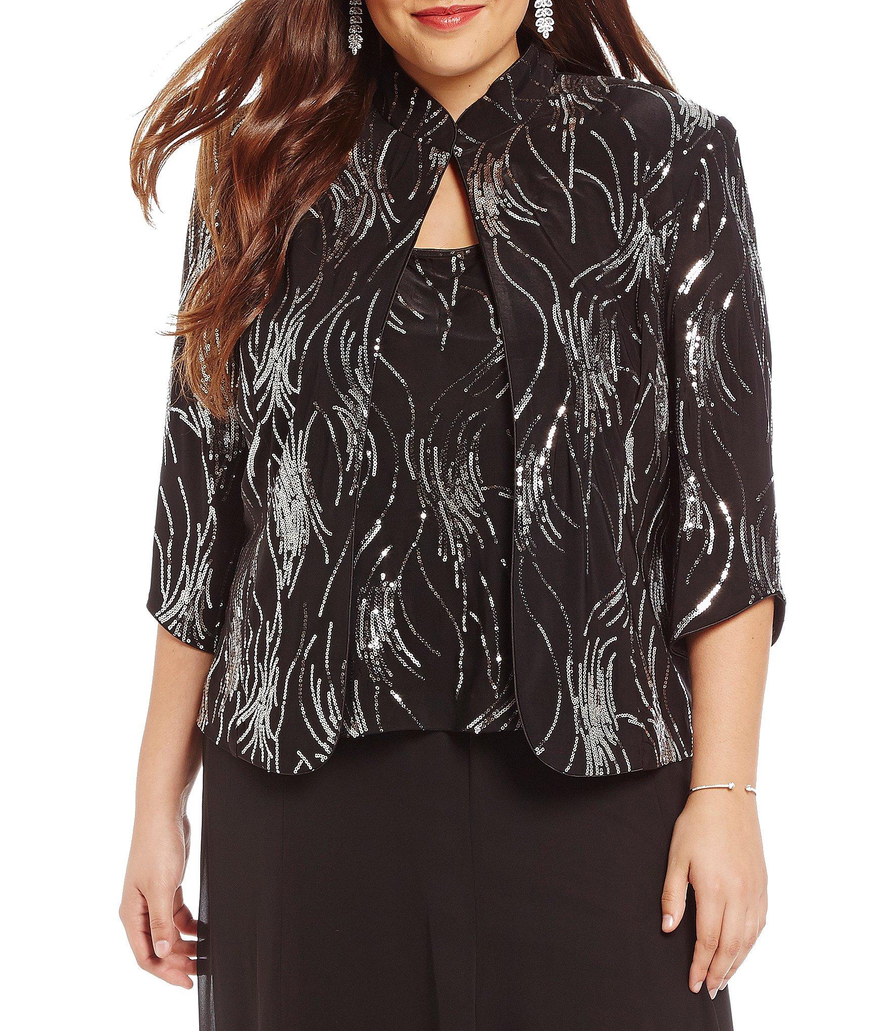 12ac7ea66ce Blazer Women s Plus Size Dressy Tops   Jackets