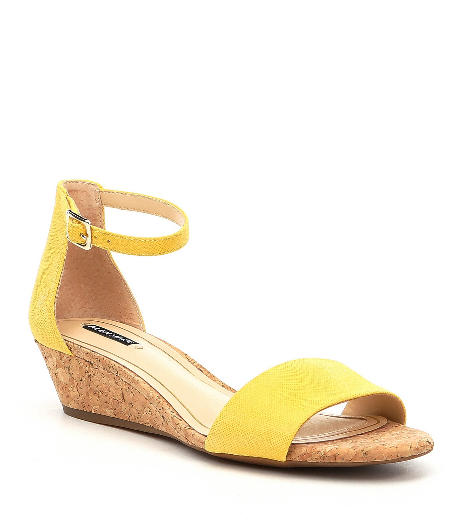 Alex Marie Mairitwo Ankle Strap Cork Wedge Sandals Dillard S