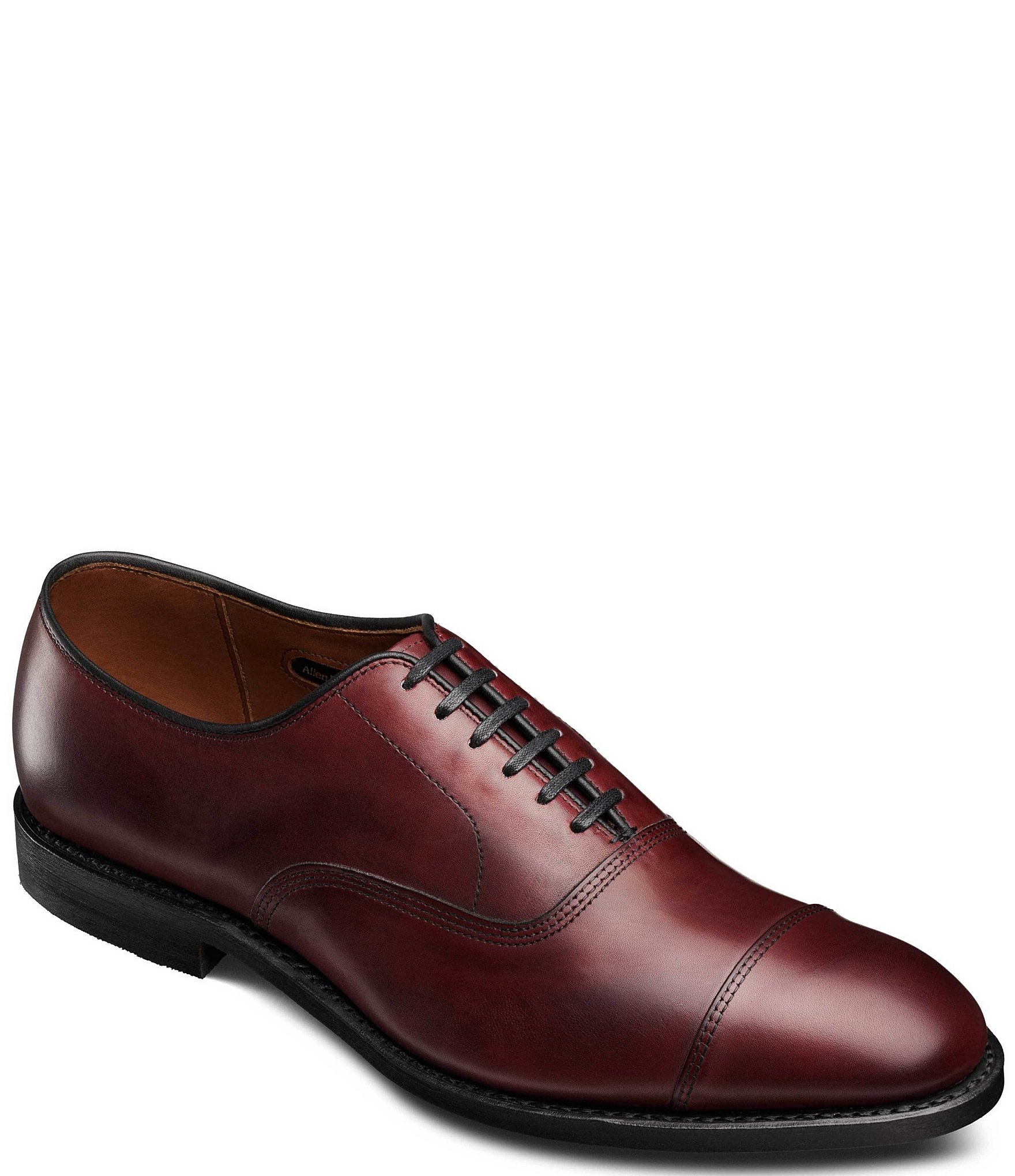 Allen Edmonds Park Avenue Cap Toe Leather Dress Oxfords | Dillard's