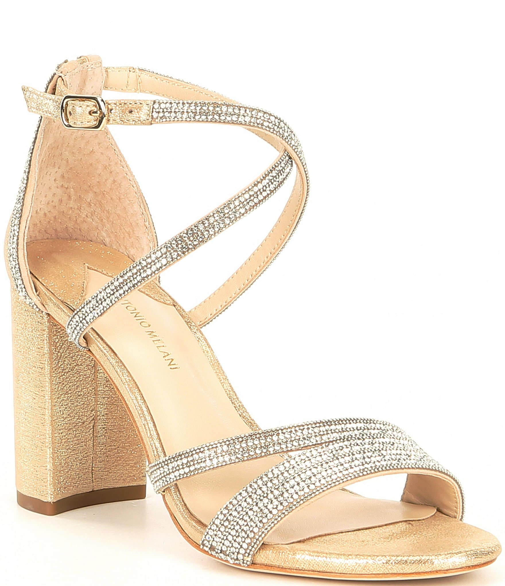 Gold Women's Wide Width Shoes | Dillard's