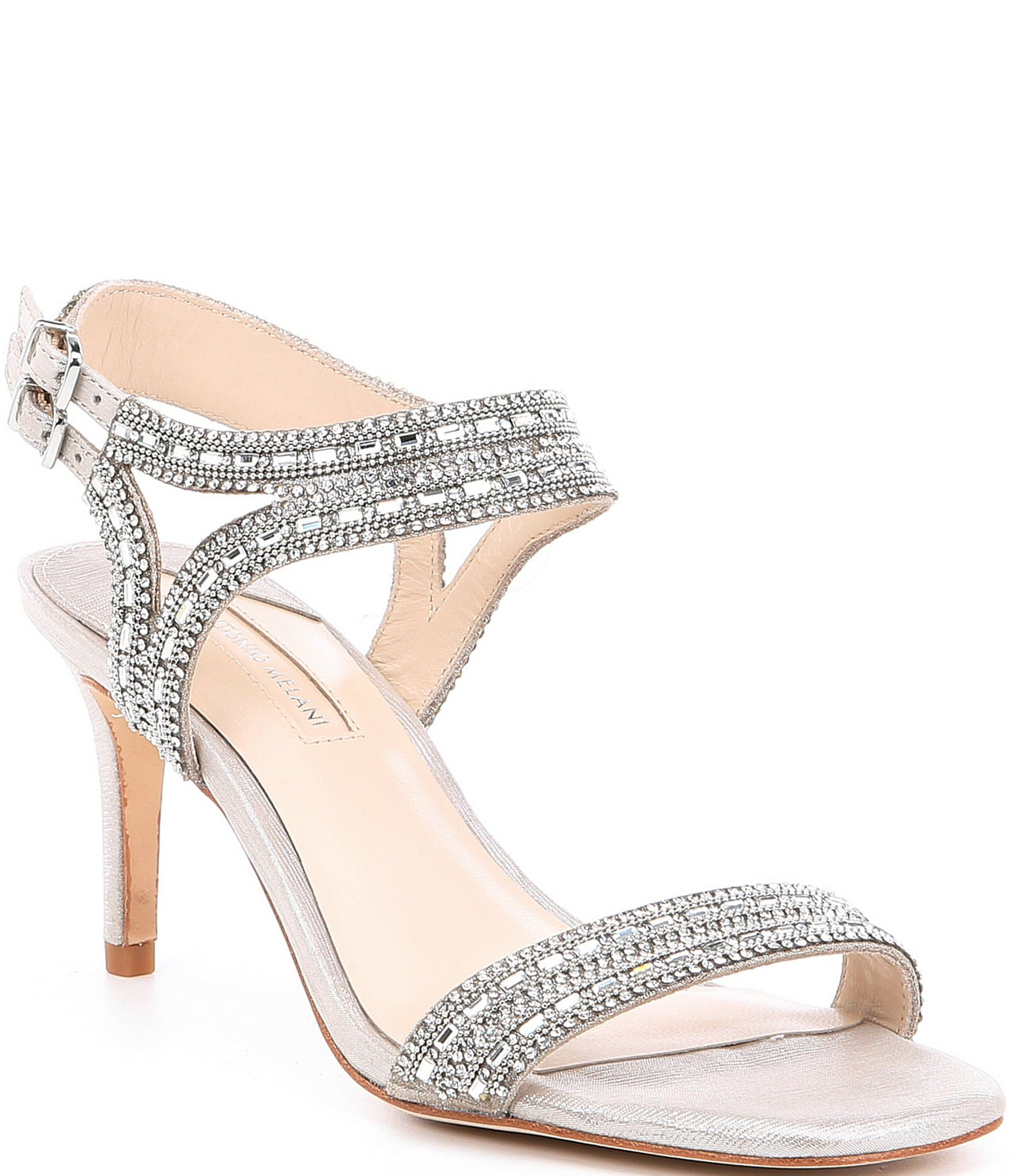 b36bba73ffd Antonio Melani Haelee Rhinestone Dress Sandals