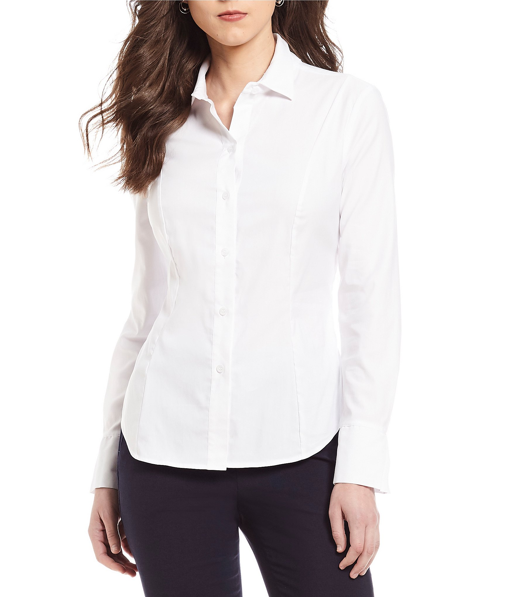 Juniors White Blouse