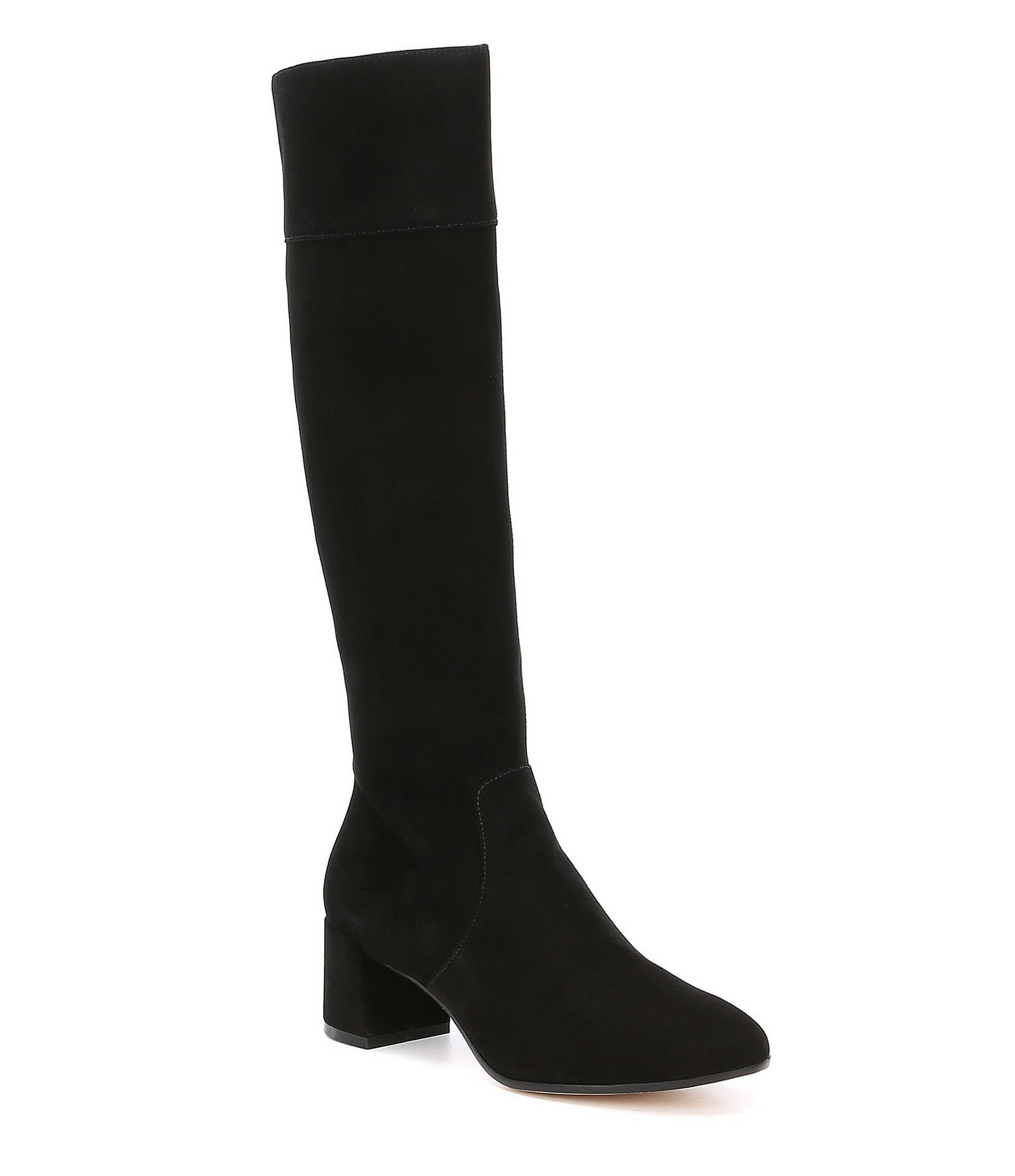 antonio melani parsenass kidsuede narrow calf dress boots
