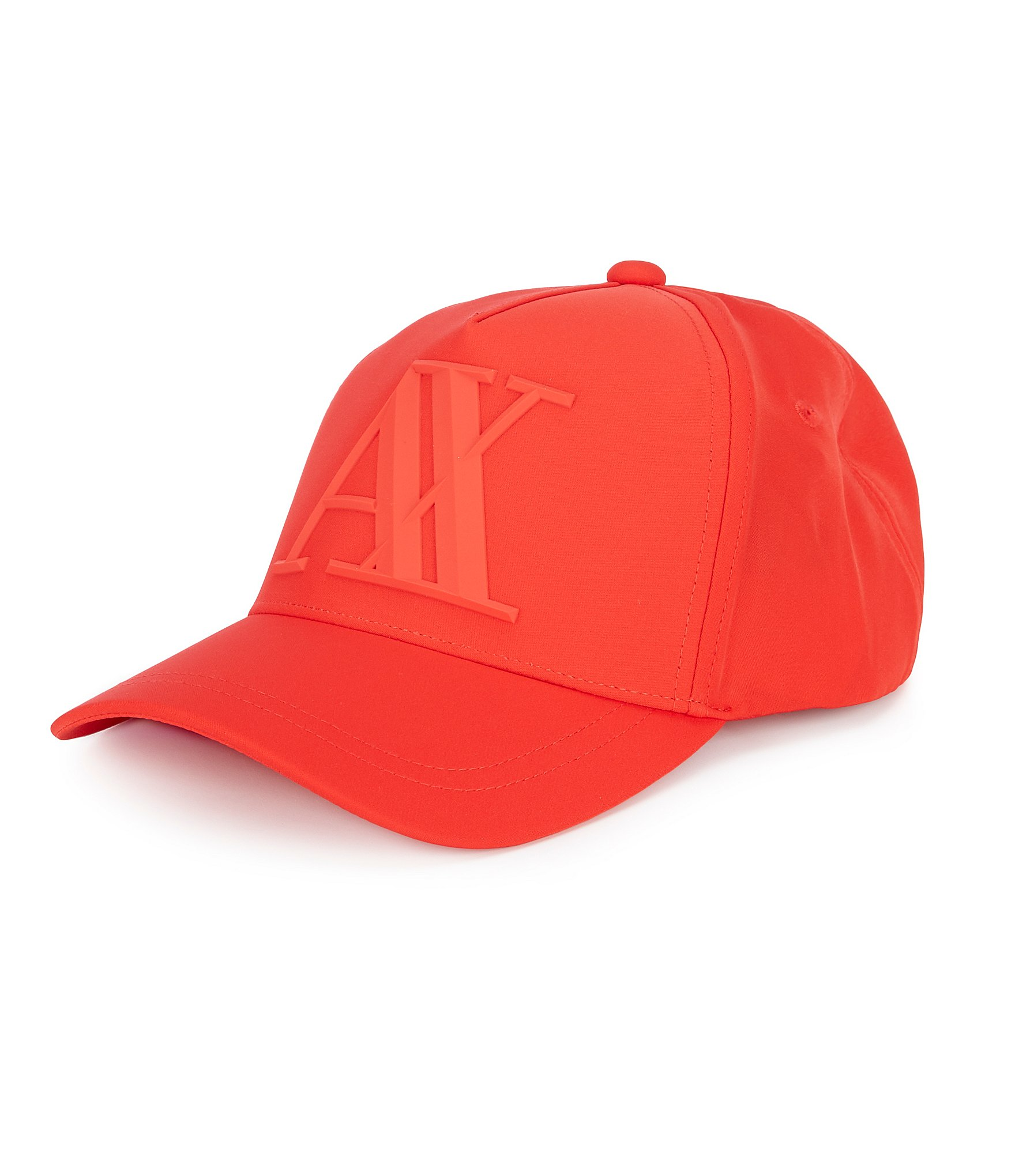 144df6cc5 Armani Exchange Core Rubber Logo Baseball Cap | Dillard's