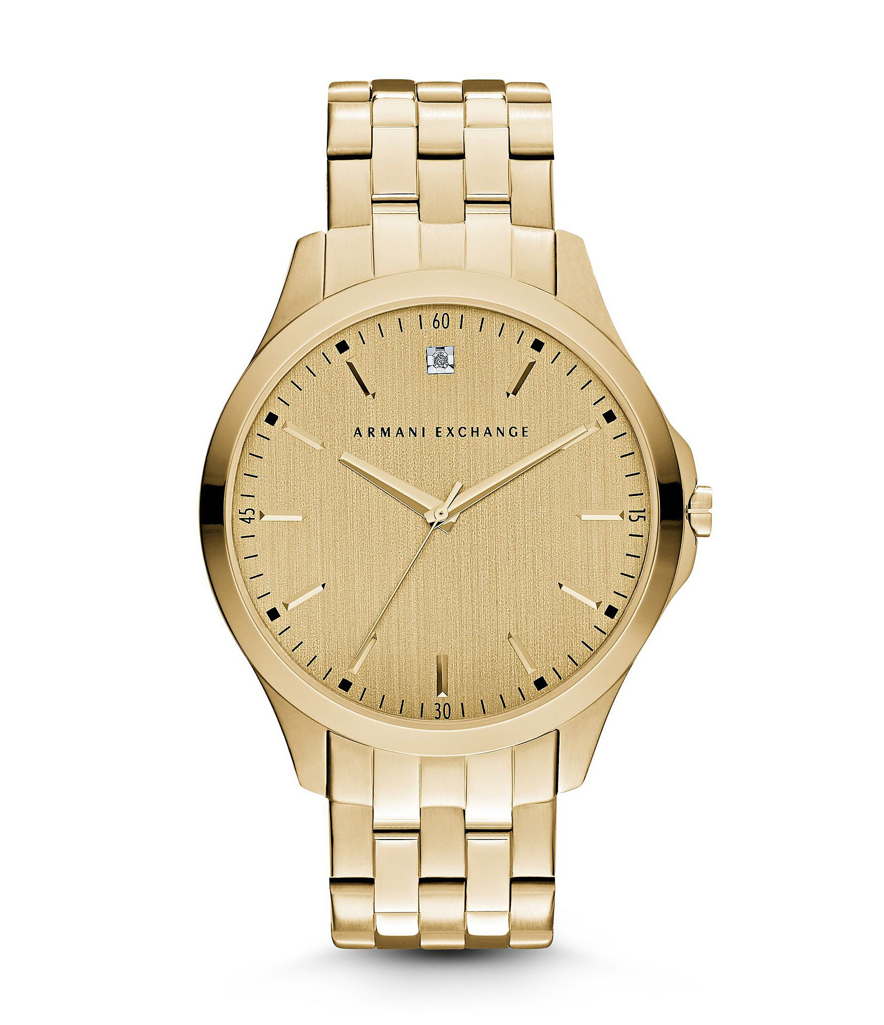 ax armani exchange 180 s smart gold with genuine