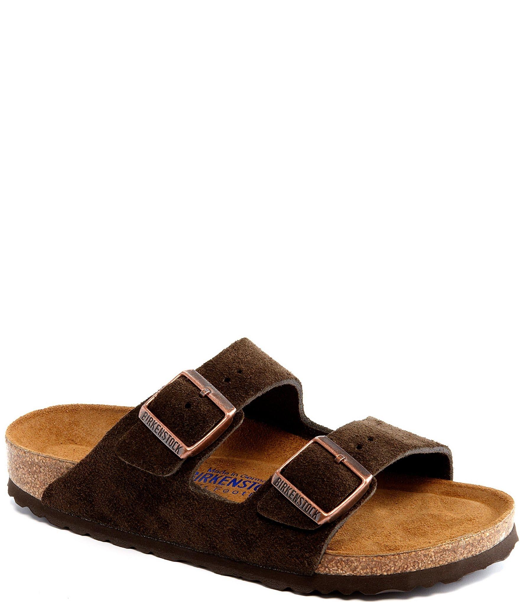 sports shoes online for sale huge discount Birkenstock Women's Arizona Suede Dual Adjustable Buckle Strap Sandals