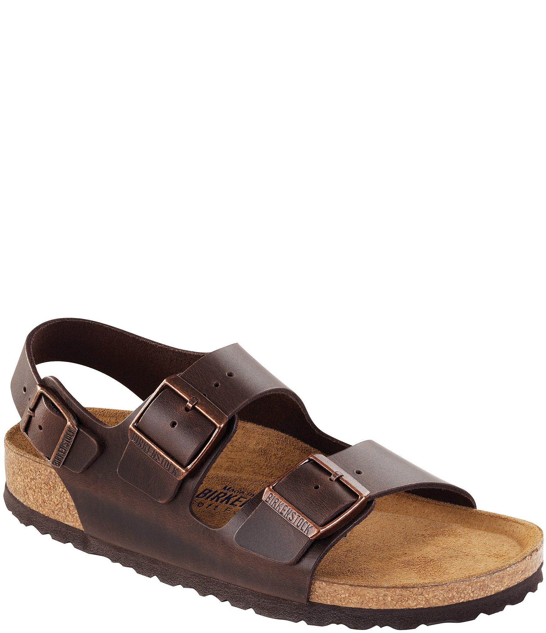 8f44c5a4c0c8 Birkenstock Men s Milano Leather Double Banded Slingback Sandals ...