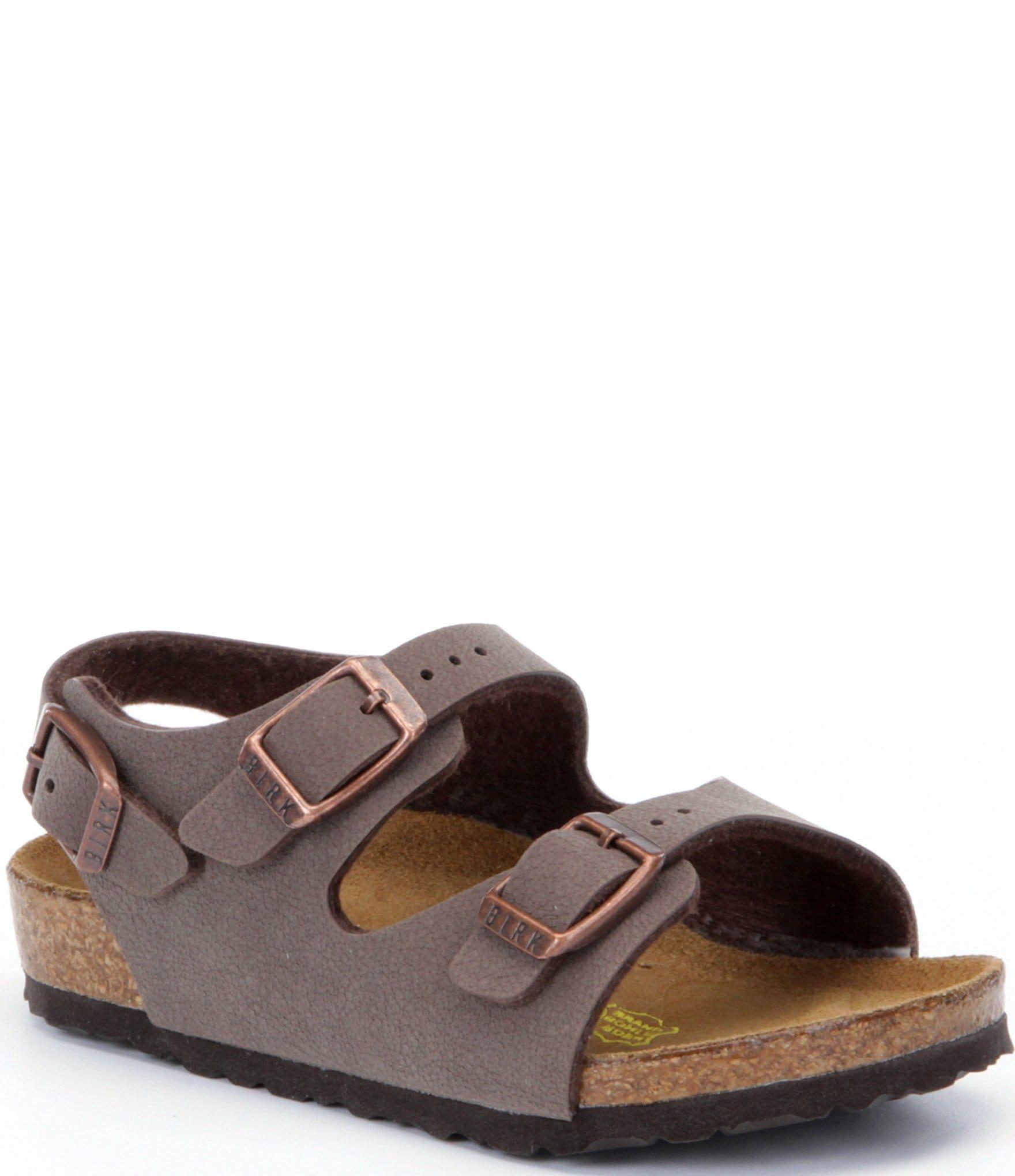 Boys' Slingback Birkenstock Sandals Adjustable Buckle Roma l15Fc3uJKT