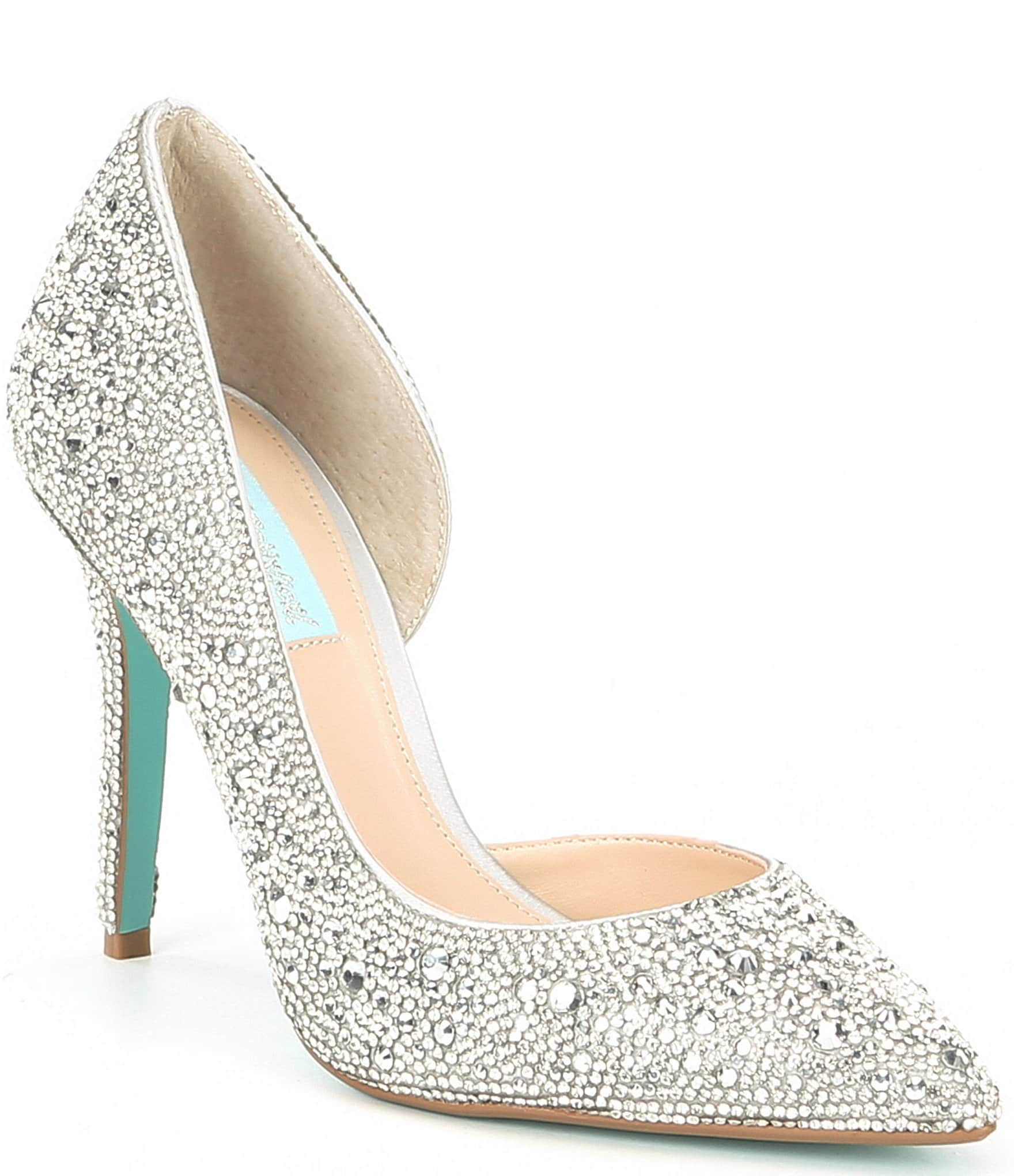 eada4422c4f57 Blue by Betsey Johnson Hazil Jeweled Pumps