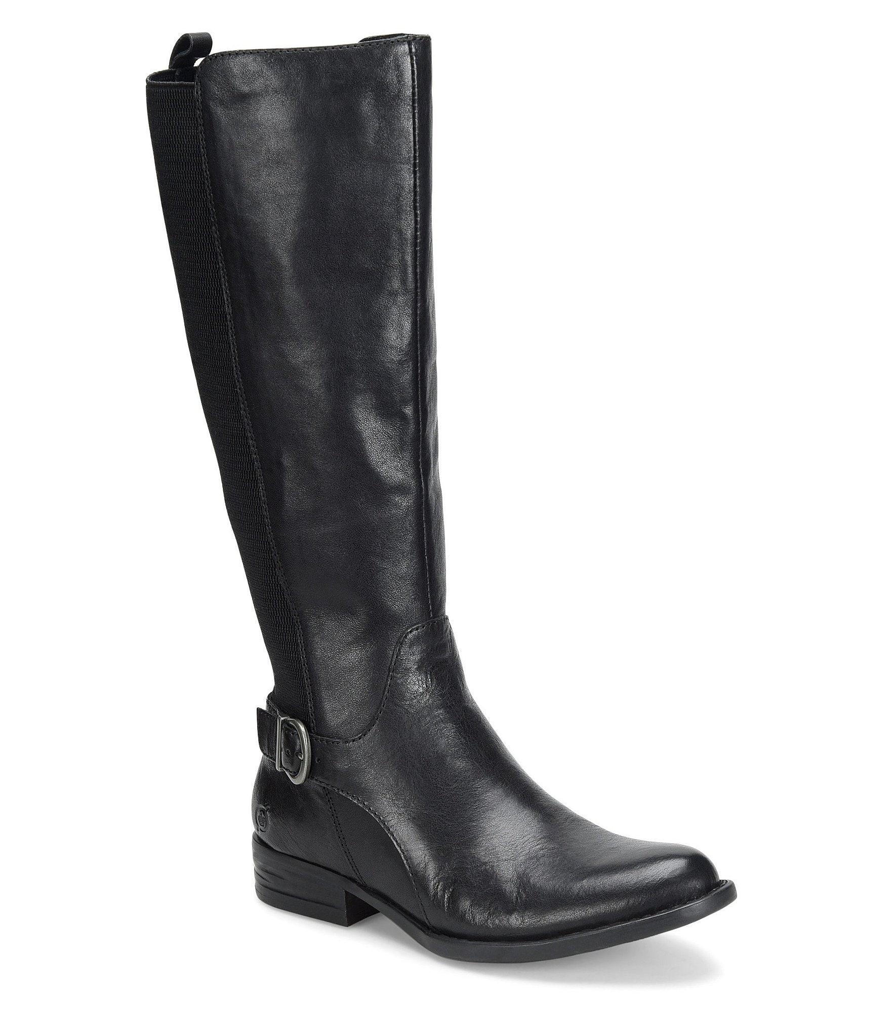 born cbell leather boots dillards