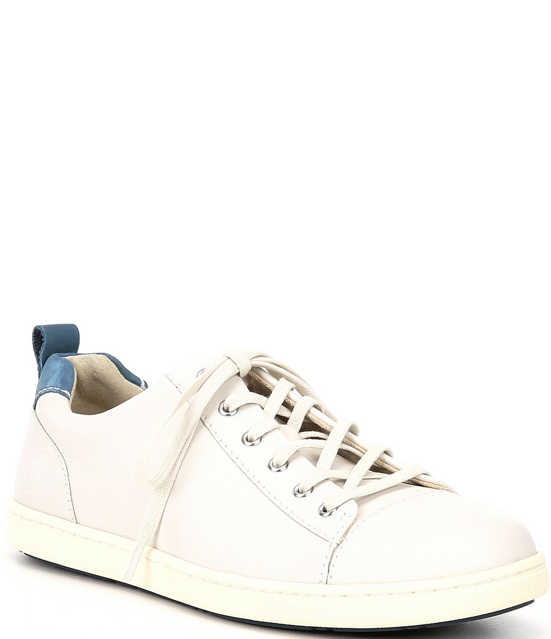 Allegheny Leather Lace-Up Sneakers