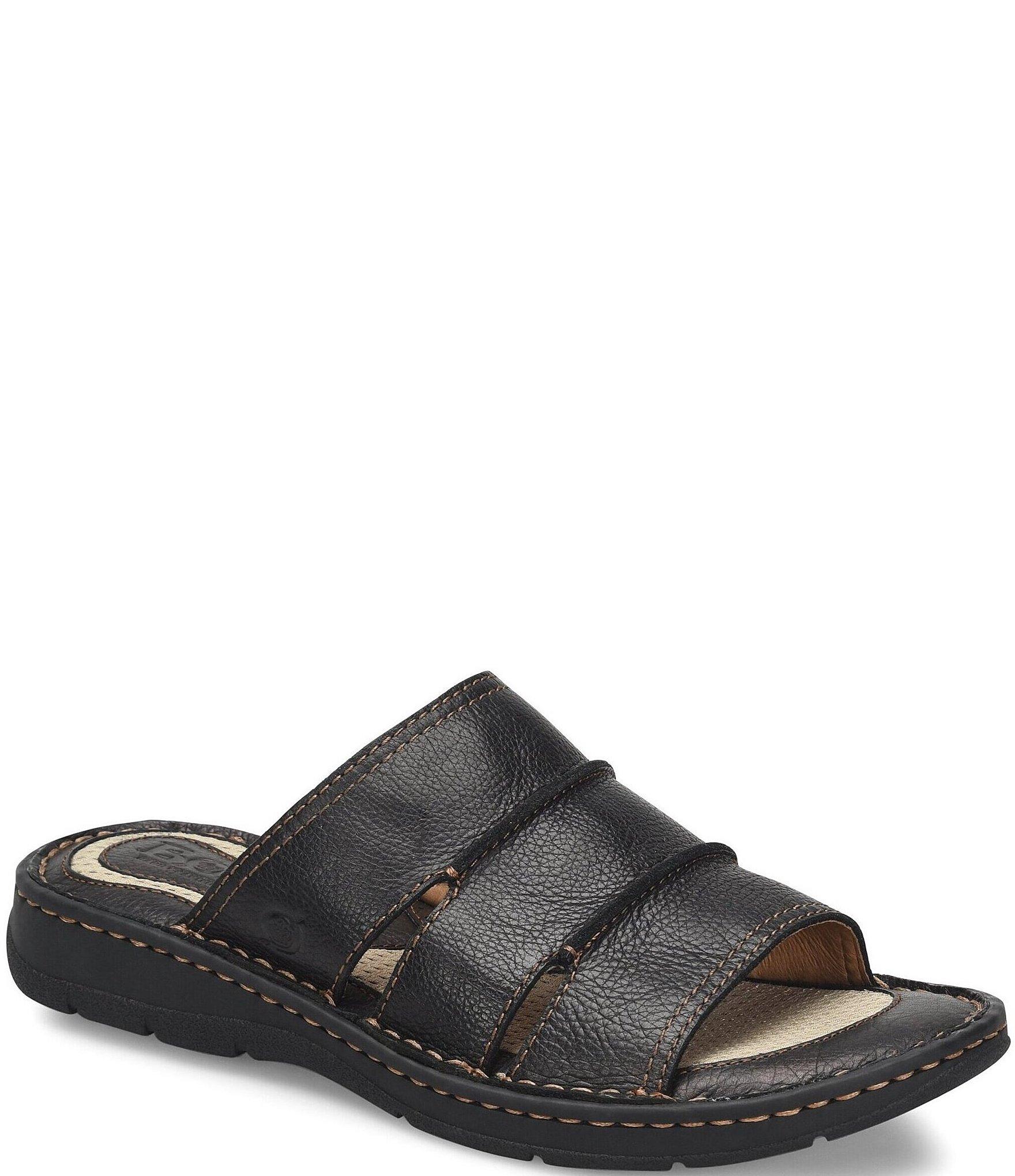 Born Men's Weiser Leather Slides