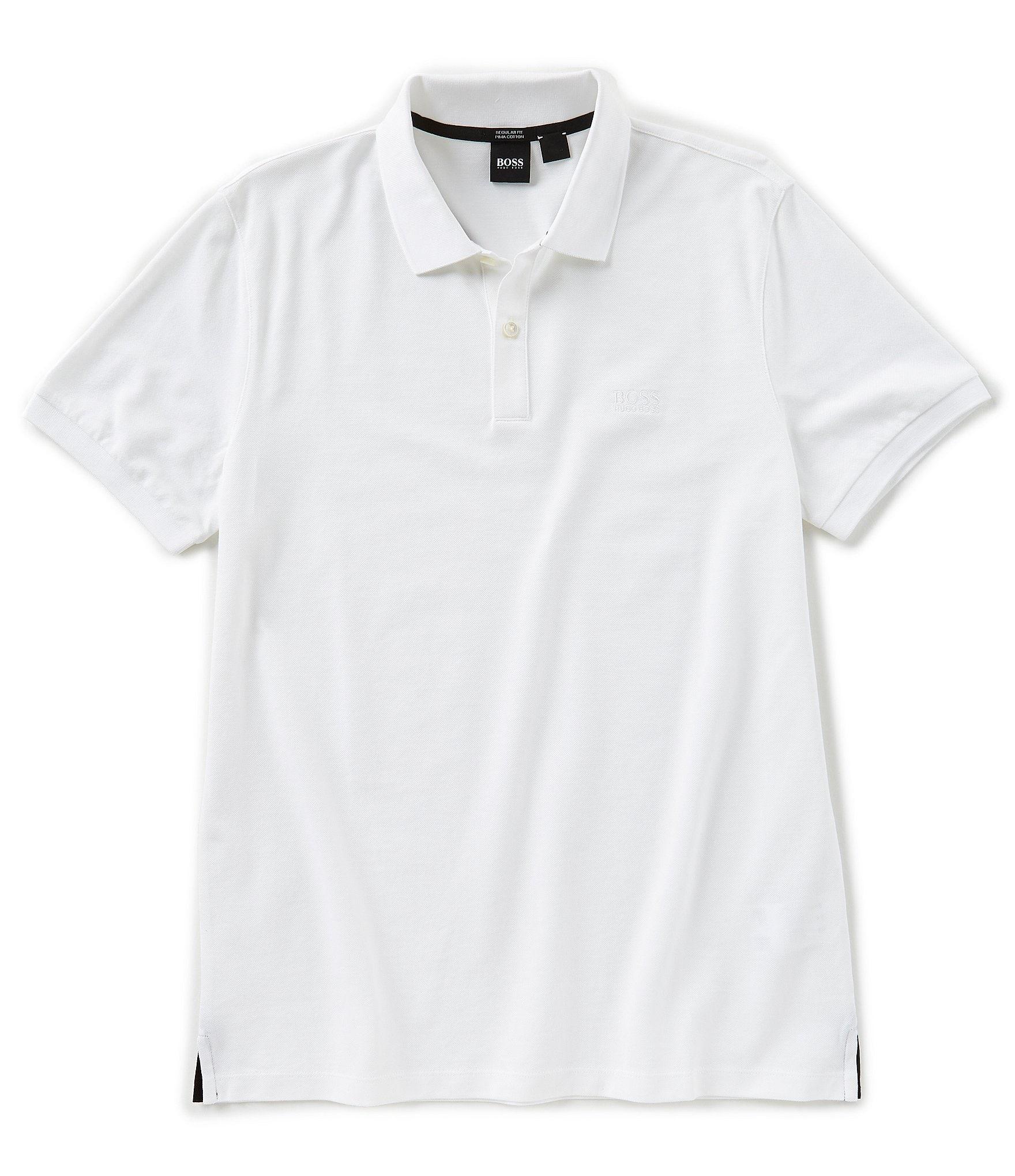 a0191db8 BOSS Pallas Pique Short-Sleeve Polo Shirt | Dillard's