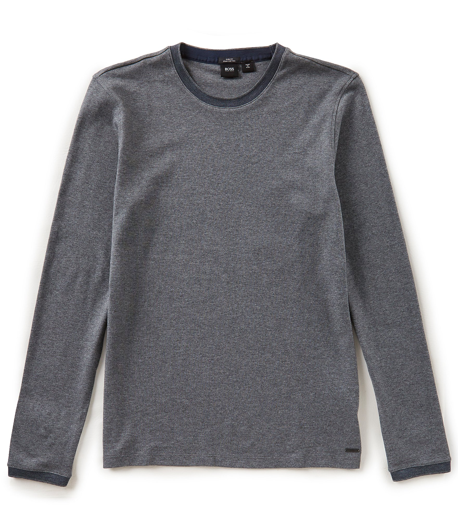 OEM Service OEM Service product details Chinese clothing manufacturers custom wholesale plain long sleeve pima cotton t shirt travabjmsh.ga Show travabjmsh.gat Details Style Chinese clothing manufacturers custom wholesale plain long sleeve pima cotton t shirt Material 60% cotton, 40% polyester Design knit tee featuring a crew neck, long sleeves, and a.