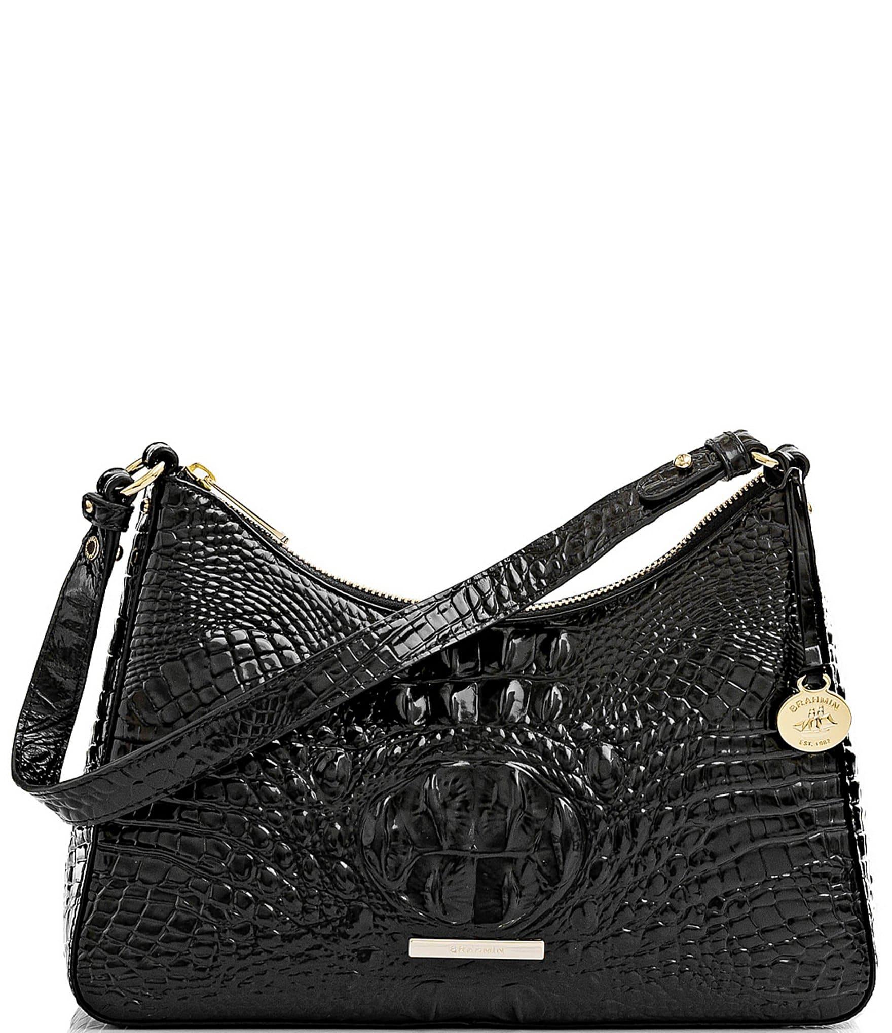 Compass Ladies Microfiber Handbag or Shoulder Bag Black