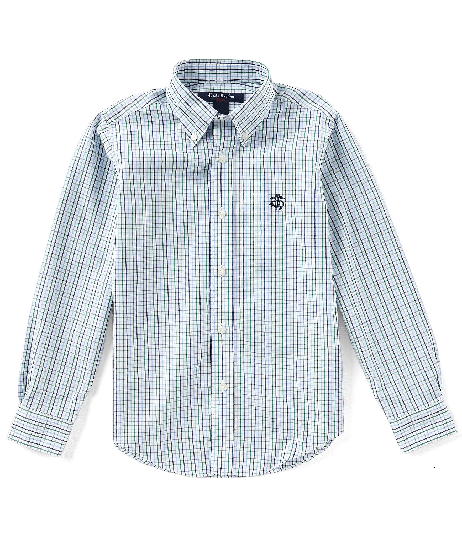 Brooks brothers little big boys 4 20 button down for Brooks brothers boys shirts